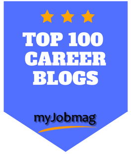 Top 100 Career Blogs Badge from myJobmag